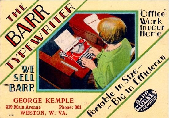 Barr-typewriter-blotter
