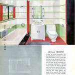 Vitrolite streamline green bath (21 of 1)