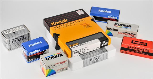 IR film boxes pic