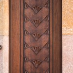 Door, Temple Emanuel - Paterson, NJ
