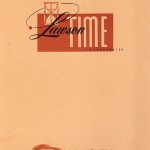 Lawson Time Catalog, late 1940s-50s