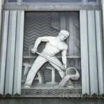 Aluminum Panel, Alcoa Aluminum Company, Los Angeles, California