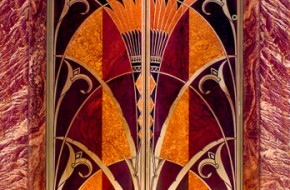 Elevator Door - Chrysler Bldg., - NYC