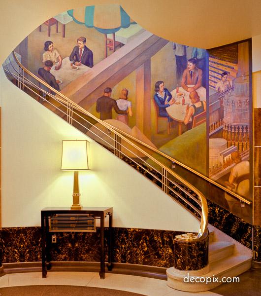 Art deco murals friezes gallery decopix - Deco tableau mural ...