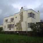 "House, ""The Swan"" (under restoration), England. Courtesy Neil B"