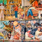 Mural by Diego Rivera -San Francisco City College