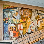 Mural by Anthony Heinsbergen-San Francisco City College