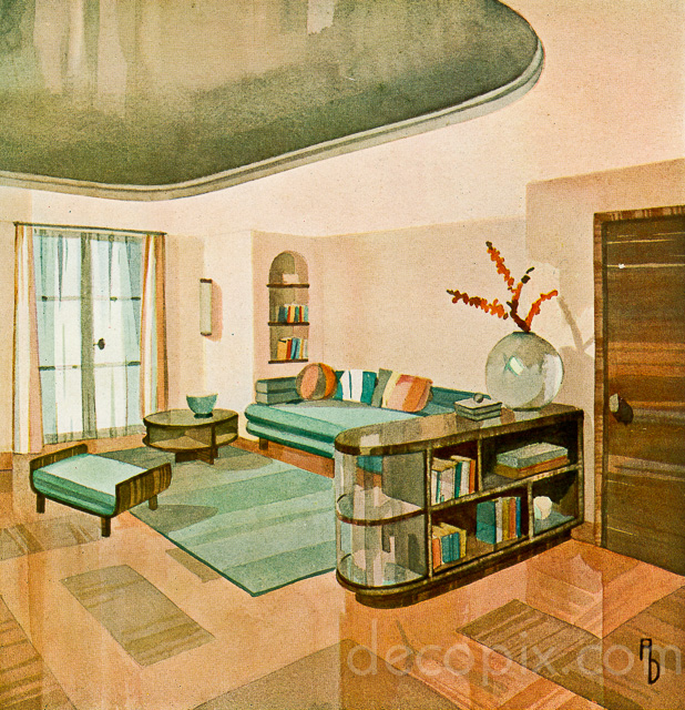 art deco architecture drawings gallery decopix. Black Bedroom Furniture Sets. Home Design Ideas