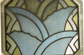 Stained glass desinged by Diego Rivera, Mexico City, courtesy Ar