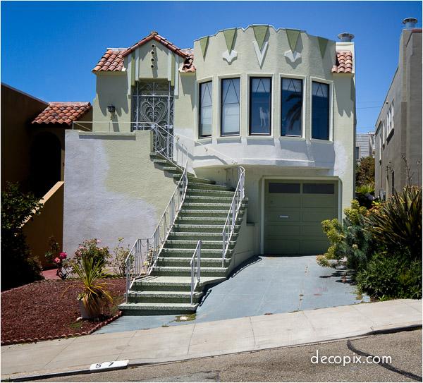 Art Deco Houses Gallery