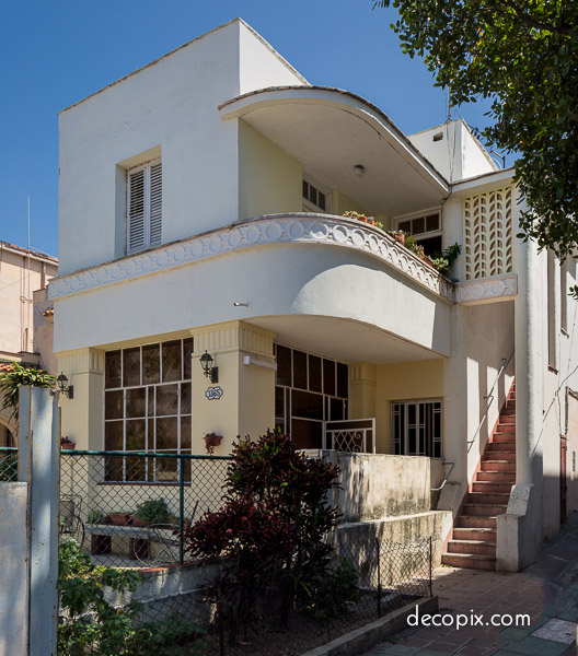 Art Deco Homes: Art Deco House – Havana