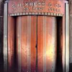 Door, Kress & Co - NYC (demolished)