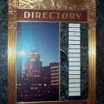 Directory, Milwaukee Gas & Light Bldg., courtesy Thomas Queoff