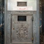 Mailbox, Crescent Bldg. - Montreal