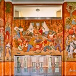 Mural by Le Roux Smith Le Roux,Old Mutual Bldg.-CapeTown