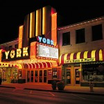 York Theatre, Elmhurst, Illinois, courtesy Michael Zale