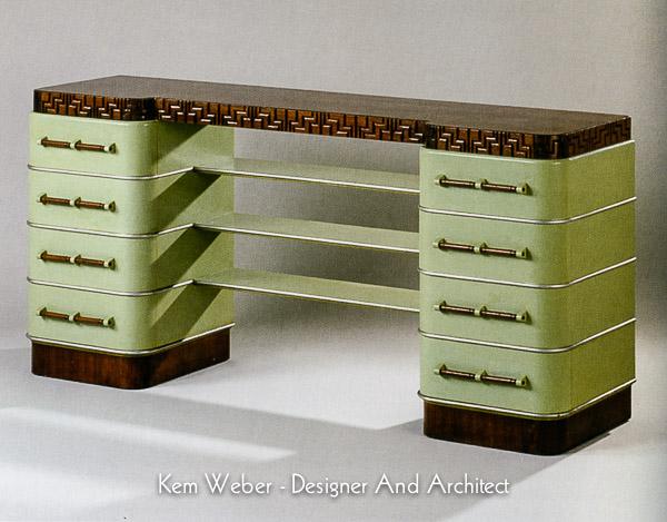 Review kem weber designer and architect decopix for Weber designs