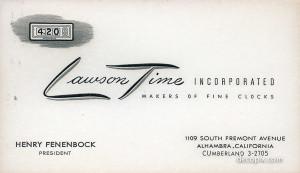 Fenenbock card-60070