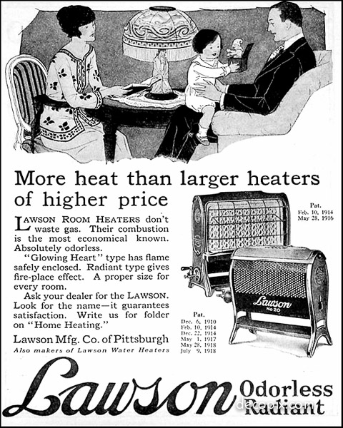 Lawson Ad - 1922 for WP-60070