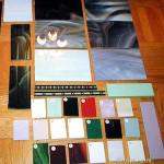 Assorted Vitrolite color samples, courtesy Tim Dunn