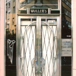 Muller's, originally a chemist (pharmacist), now an optician - Cape Town, South Africa