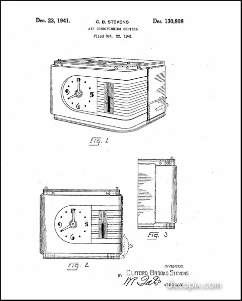 Perfex thermostat patent-60070