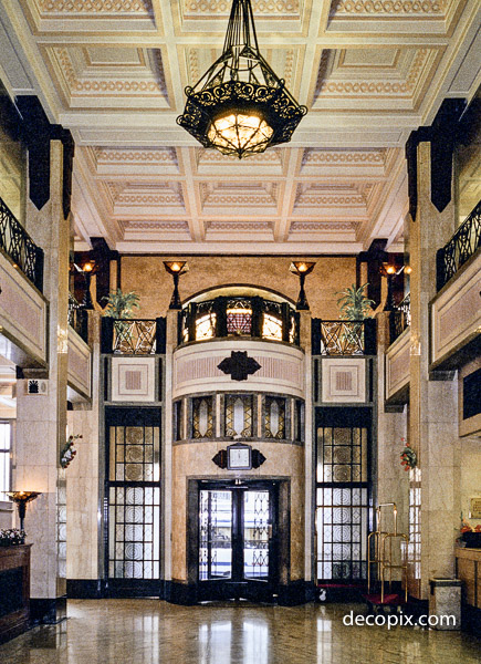 Lobby, Peace Hotel, Shanghai