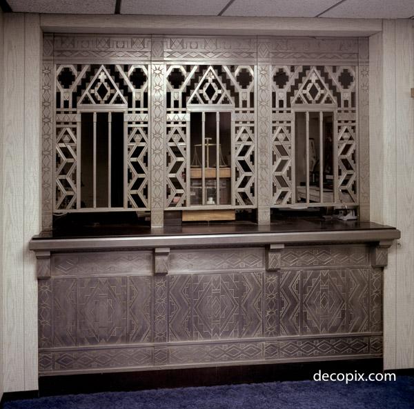 Safe Deposit Windows, Guardian Bldg., Detroit, Michigan